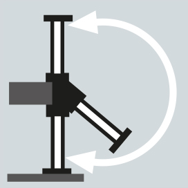 Hydraulic flip-up outriggers