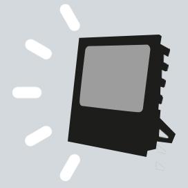 Faro de trabajo con tecnología de led