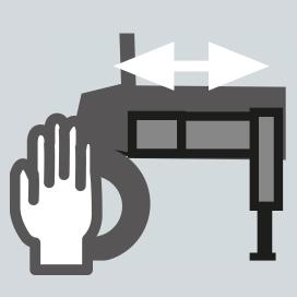 Bras stabilisateur à extension manuelle
