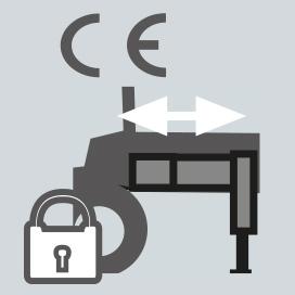 Dispositivo automatico sicurezze stabilizzatori inserite